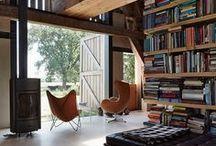 structural inside, room deviders & built-in components / raffinierte  und praktische einbauten. treppen und leitern sind tolle gestaltungselemente. architektur im haus ist das wahre vergnügen. konstruktionen dürfen und sollen sichtbar sein.