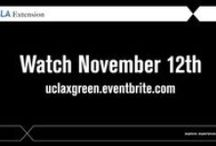 Webinar: Sustainability (Nov 12) / Free webinar on Sustainability on Nov 12. Learn from UCLAx Experts & Graduates.  Topic:  Principles of Sustainability, Landscape Architecture, Public Policy, Energy and more. Sign up uclaxgreen.eventbrite.com