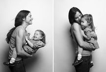 MOTHER + CHILD PHOTOS / Adorable photos of moms and their children.