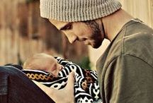 FATHER + CHILD PHOTOS / Sweet photos of dads and their babies