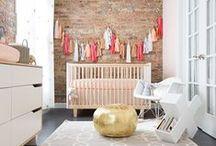 BABY GIRL + NURSERY / Nurseries we like for baby girls