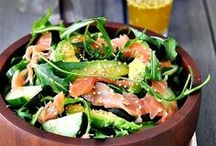 Salat-Ideen & Dressings / Salatideen, Dressings