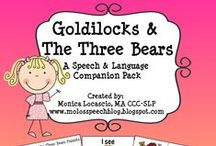 Traditional Tales Topic- Goldilocks and The Three Bears- Early Years / by Rachel Emma
