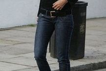 denim looks / i pull my blue jeans on.. i pull my old blue jeans on! das ist so, das bleibt so.