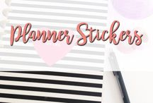 Planner Stickers / Planner Stickers from Hello Planners Planner Accessories   Planner Stickers   Decorative Stickers   Functional Planner Stickers   Functional Stickers   Happy Planner Stickers   Erin Condren Planner Stickers   Erin Condren Life Planner  