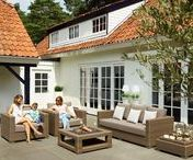 Ocean loungeset light brown | BuitenHof Tuinmeubelen