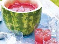 """Sommerparty / Sommerliche Rezepte und Dekoration. Einfache DIY passend zum Thema """"Sommerparty""""."""