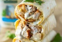 Tacos, Wraps, Tortillas / Tacos, Wraps, Tortillas, Buritos - leckere Rezepte. Mexikanische Küche. Mexican food ideas.
