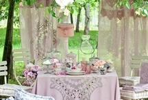At the Park - ideas for Wedding Picnic Vintage Country Chic Party Reception  / The little touches that make the park sparkle and fun abound on that special day or any day Lots of DIY bride ideas on decorating, games and activities, way to use what you have or reuse what you make for the wedding in your home afterwards. Thoughts to upcycling, reusing, and to making items that will resell or reuse :) A hodge podge of styles and ideas to browse and inspire a fun diy wedding that is affordable in an outdoors setting!   / by Handmade and Handpicked Boutique