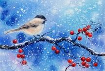 Beautiful  Watercolour Art /  Do not pin more than 10 pins from my boards at one time.  Be Original...not a copycat! Most people have respected and understood it. Please be advised that abusers will be BLOCKED. Thank You for following me :-) / by Joke