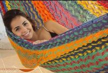 Hammocks! / July 22 is Hammock day! Here are some beautiful, #fairtrade, handcrafted hammocks from FTF member orgs. / by Fair Trade Federation