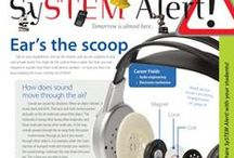 SySTEM Alert! FREE Publication / This publication is distributed by Pitsco Education and is FREE for you to distribute to your students. The audience is targeted as middle school students and includes an article for each area of STEM (science, technology, engineering, and math). Go to www.pitsco.com/Network to see the magazine this insert is published in.
