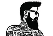 beards and tattoos.