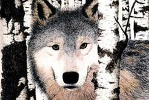 wolves and art / Wolves in art