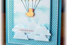 Baby Karten / Geschenk Ideen