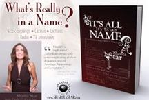 It's All in the Name- Book / Lexigrams are the phenomena of what's really in a name. Start learning how to spell out the truth. FREE CHAPTER! http://eepurl.com/yqRXT