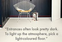 Interior TIPS & TRICKS / Practical and inspiring tips on flooring and decoration