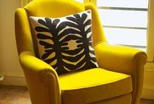 Vintage sofas and armchairs