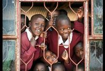 tansania / Schools in TANZANIA, people in everyday life, wildlife