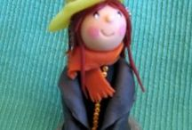 La mia pasta al mais - personaggi / Oggetti fatti a mano - senza uso di stampi