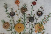 Craft - Button Art / Buttons for Decorative Art, Scrapbooking and Cards and sometimes just interesting 'buttons' sorted by colour.