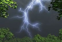 Awesome Nature - Lightning / The beauty, the awesomeness and power of nature in the world around us
