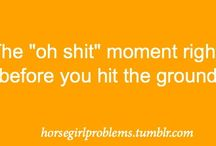 Equestrian Things / All those little things only equestrians will understand