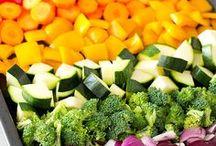 Food - Vegetables / Just veggies cooked and presented in various ways