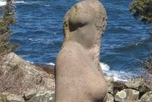Grounds and Gardens / Our exquisite sculpture garden and ocean-view location in Southern Maine