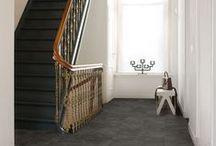 HALLWAY inspiration / HOW TO MAKE AN #ENTRANCE: A NEW FLOOR FOR YOUR #HALLWAY OR #CORRIDOR http://www.quick-step.com/