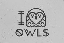 Only Owls / Owls are my most wonderful totem since my Grammie transited in Spirit a few years ago. They simply have followed me everywhere since one appeared the morning after she transited. Love Never Dies.