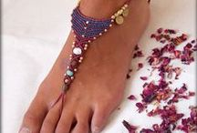 barefoot sandals en bracelets