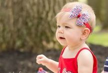 July 4th Baby and Child Photography Session Ideas / A collection of ideas for upcoming July 4th photo shoots for The Princess Express.