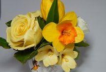Мои цветы ручной работы из холодного фарфора (само-застывающей полимерной глины) / Цветы из холодного фарфора ( само-застывающей полимерной глины ). Ручная работа.
