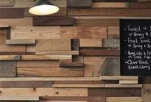 RECLAIMED trend / Nothing beats the beauty, charm and warmth of (reclaimed) wood in your interior.
