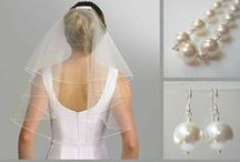 Brides and Bridesmaids / Mini inspiration boards for bridal and bridesmaid outfits.