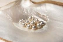 Pearls, pearls, pearls. / Pearls are the Queen of gems. They are the only gem that is beautiful as is, no cutting, polishing or enhancing of any kind needed. Pearl is the birthstone for the month of June.