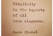 Quotes About Jewelry and Style / Quotes involving jewelry and style in some way.