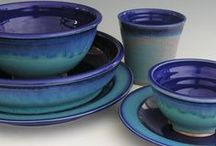 Dishes / Colorful amazing dishes for the table.