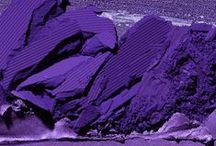 Color Story: Purple / From lavender to rich, deep purple.