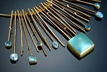 Designer Jewelry / Contemporary jewelry in precious metals and gemstones by high end designers.