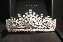 Tiaras and Crown Jewels / Beautiful tiaras and jewelry for your inner Princess.
