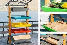 Up&Green L'Inspiration Jardin / Gamme de meubles #tendances et #écologiques concept d'un micro éco-système de #jardinage.