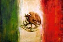 Viva Mexico! / Mexico celebrates its Independence on September 16th. Mexico has a rich cultural history, amazing food, beautiful cities, loud colors, art, some of the best beaches and tourist places in the world and warm, welcoming people.
