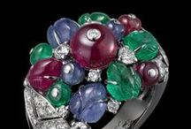 Magnificent Jewels: The Precious Three / Amazing haute jewelry combining the major three gemstones: Emeralds, Rubies and Sapphires.