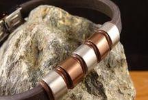Wild Steel / Bracciali e collane in cuoio e acciaio