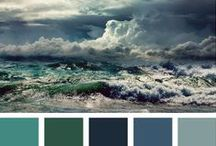 Colourways / Colour palettes for interiors and exteriors