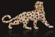 Panthère de Cartier / Cartier's iconic and amazing panthers.