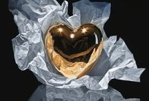 Hearts of Gold / Golden heart shaped things