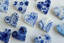 Hearts so Blue / Blue hearts.